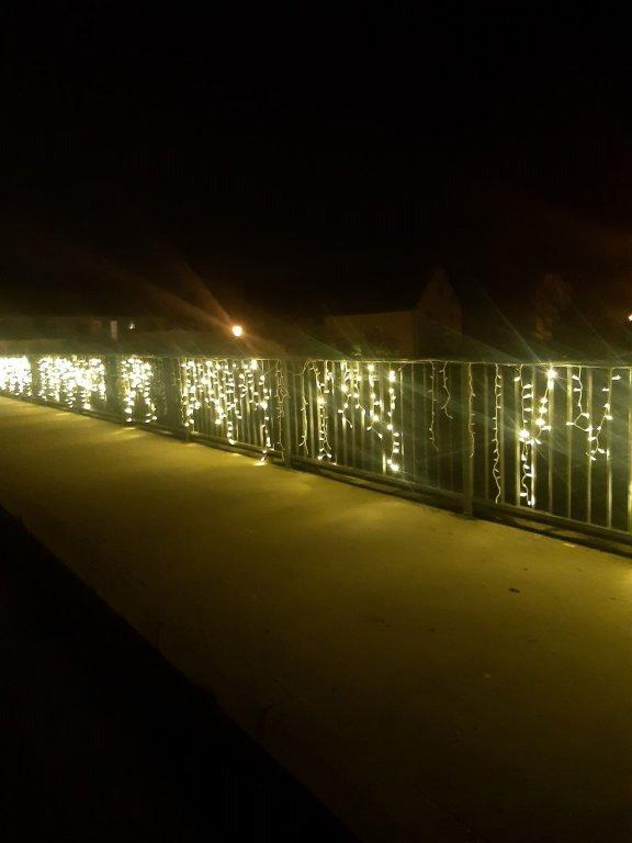 Paarbrücke Lichterkette Beschädigung 2